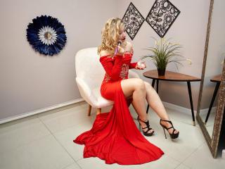 Velmi sexy fotografie sexy profilu modelky RebellLa pro live show s webovou kamerou!