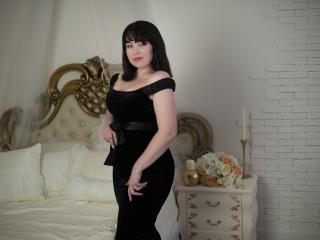 Velmi sexy fotografie sexy profilu modelky SilentSecret pro live show s webovou kamerou!
