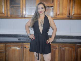 Velmi sexy fotografie sexy profilu modelky TefyChic pro live show s webovou kamerou!