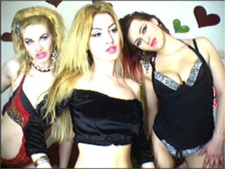 Picture of the sexy profile of ThreeSexyLadies, for a very hot webcam live show !