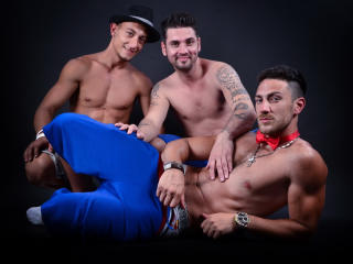 Picture of the sexy profile of ThreeWildDudes, for a very hot webcam live show !
