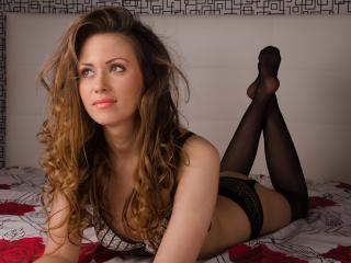 Velmi sexy fotografie sexy profilu modelky ToiSecret pro live show s webovou kamerou!