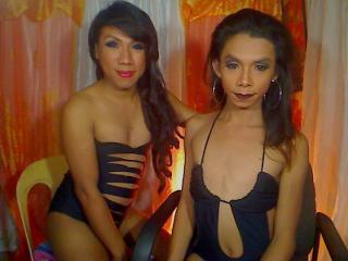 Sexy profilbilde av modellen  TwoDirtyMistress, for et veldig hett live webcam-show!