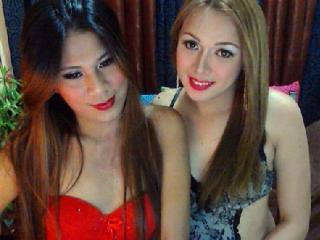 Foto del profilo sexy della modella TwoFuckableAssTsCpl, per uno show live webcam molto piccante!