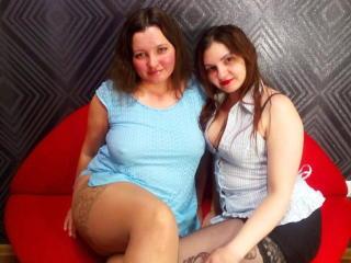 Foto de perfil sexy de la modelo TwoRosesx, ¡disfruta de un show webcam muy caliente!