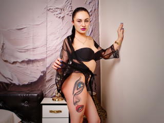 Photo de profil sexy du modèle VikaDiamond, pour un live show webcam très hot !