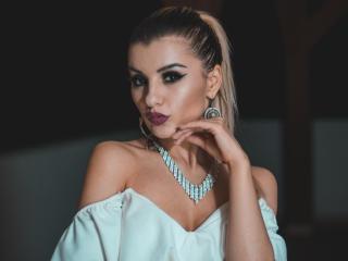 Velmi sexy fotografie sexy profilu modelky VikiSweetie pro live show s webovou kamerou!