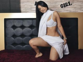 Foto de perfil sexy da modelo VioletaYoel, para um live show muito quente!
