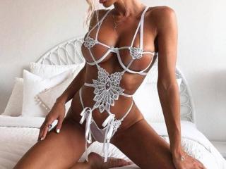 Velmi sexy fotografie sexy profilu modelky ZEBRA pro live show s webovou kamerou!