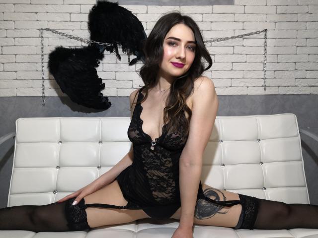 Foto de perfil sexy da modelo Biancasittwine, para um live show muito quente!