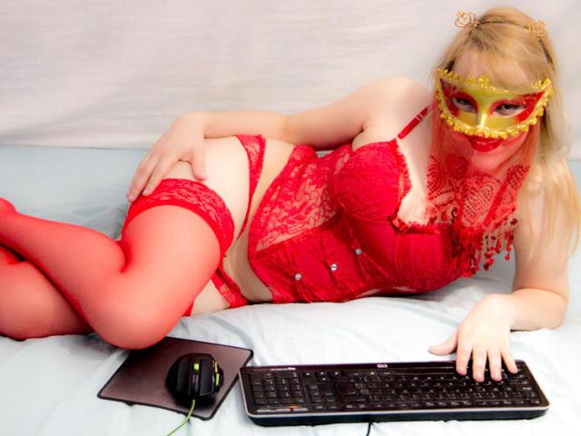 Velmi sexy fotografie sexy profilu modelky LaSexyy pro live show s webovou kamerou!