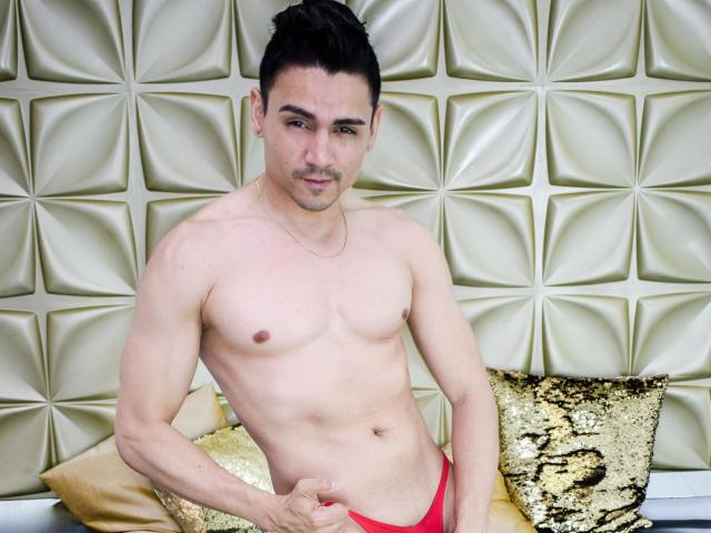 Picture of the sexy profile of MaxinStar, for a very hot webcam live show !