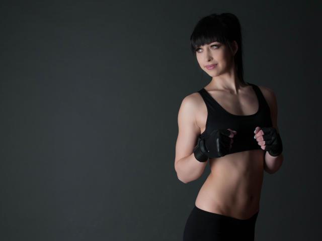 Sexet profilfoto af model StrongAndPretty, til meget hot live show webcam!