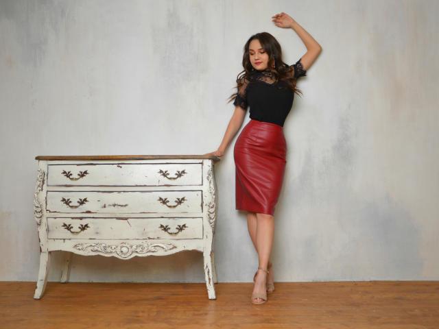 Velmi sexy fotografie sexy profilu modelky SweetyLover pro live show s webovou kamerou!