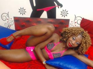 BlacksexyX - Live cam porn with this Young lady with average hooters