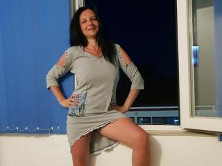 MadameAlexaX - Live cam hard with a shaved genital area MILF