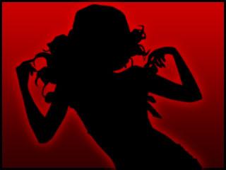 AdelinaBlack horny girl on webcam