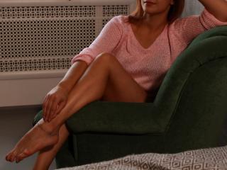 MelissaArdent masturbating girl on webcam