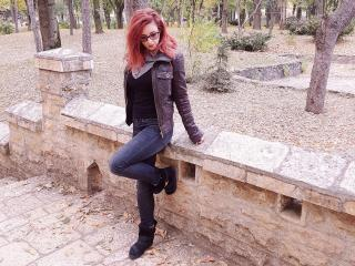 MissyLoreen - Show x with a red hair Sexy girl