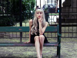 LunaCorta - chat online x with a light-haired Sexy girl