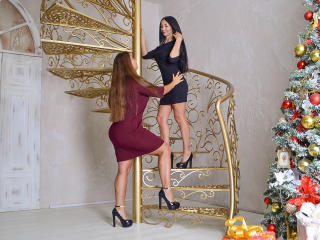 NikaXRysa - Live sex with this brunet Girl on girl