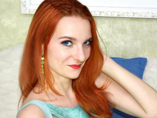 EllisFox - Cam hot with this red hair Girl