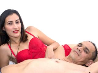KlooyXSilver - Webcam live sex with a latin american Couple