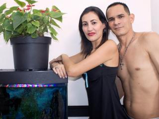 KlooyXSilver - Chat cam porn with this russet hair Female and male couple