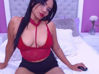 ShalomExoticX - Webcam nude with this dark hair Sexy mother