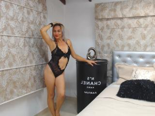 ChelyBlondex - Live cam exciting with a unshaven private part Sexy mother