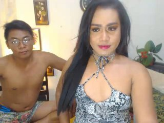 ExtremeSEXCouples - online show exciting with this dark hair Cross-sexual couple