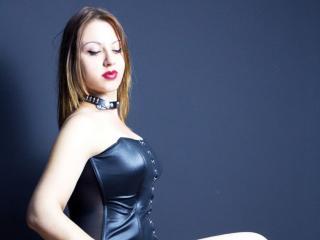 Photo de profil sexy du modèle Dominesa, pour un live show webcam très hot !