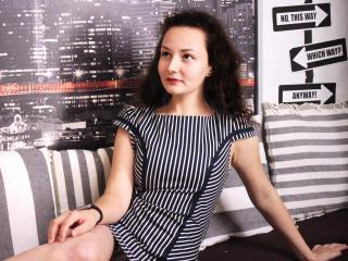 Sexet profilfoto af model LouisaCurly, til meget hot live show webcam!