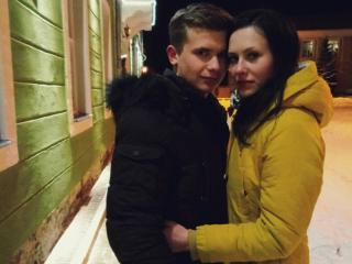 KinaAndMax - Chat hard with this being from Europe Female and male couple