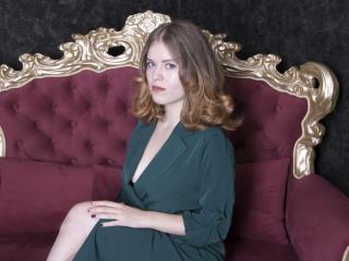 Photo de profil sexy du modèle MayaBlare, pour un live show webcam très hot !