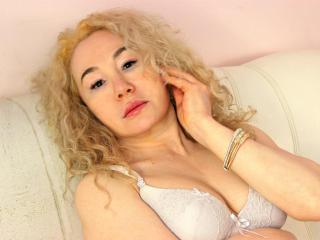Foto de perfil sexy da modelo MerylStew, para um live show muito quente!
