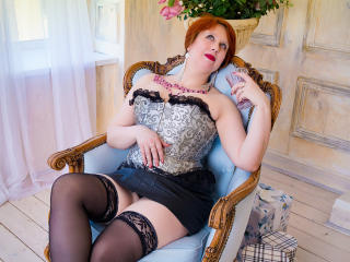 Sexet profilfoto af model NikoletaRed, til meget hot live show webcam!