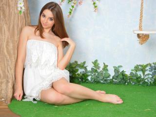 Sexet profilfoto af model HottyBea, til meget hot live show webcam!