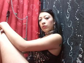 Foto de perfil sexy da modelo BellaSensualFetish, para um live show muito quente!