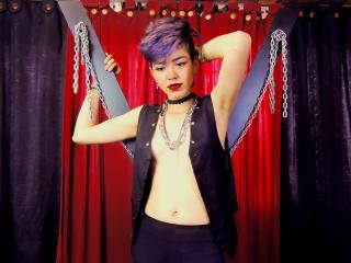 Foto de perfil sexy da modelo EllenFetish, para um live show muito quente!