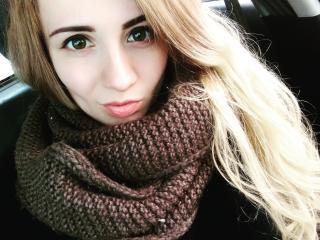 Sexet profilfoto af model JoanSunny, til meget hot live show webcam!