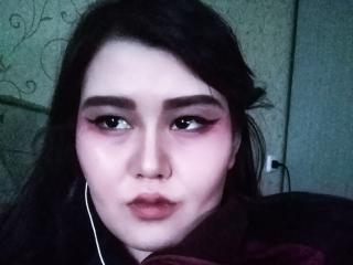 Foto de perfil sexy da modelo RubyAzure, para um live show muito quente!