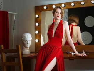 Velmi sexy fotografie sexy profilu modelky ElizaBlare pro live show s webovou kamerou!