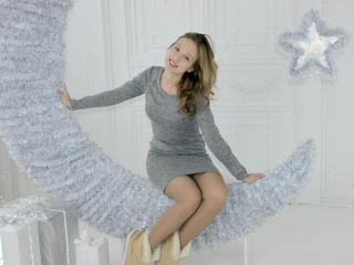 Foto del profilo sexy della modella KameliaGreen, per uno show live webcam molto piccante!