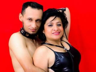 Sexet profilfoto af model DiosaAndPaul, til meget hot live show webcam!