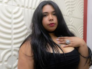 Picture of the sexy profile of SoyCarla, for a very hot webcam live show !