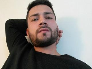 Picture of the sexy profile of HardJuanX, for a very hot webcam live show !