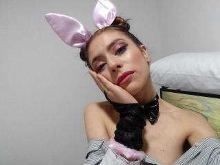 Foto de perfil sexy da modelo EileenStonne, para um live show muito quente!