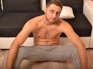 Picture of the sexy profile of CrazyEric, for a very hot webcam live show !