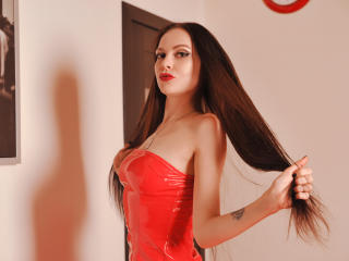 Picture of the sexy profile of HanaMist, for a very hot webcam live show !